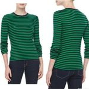 Michael Kors Collection Cashmere Sweater Striped